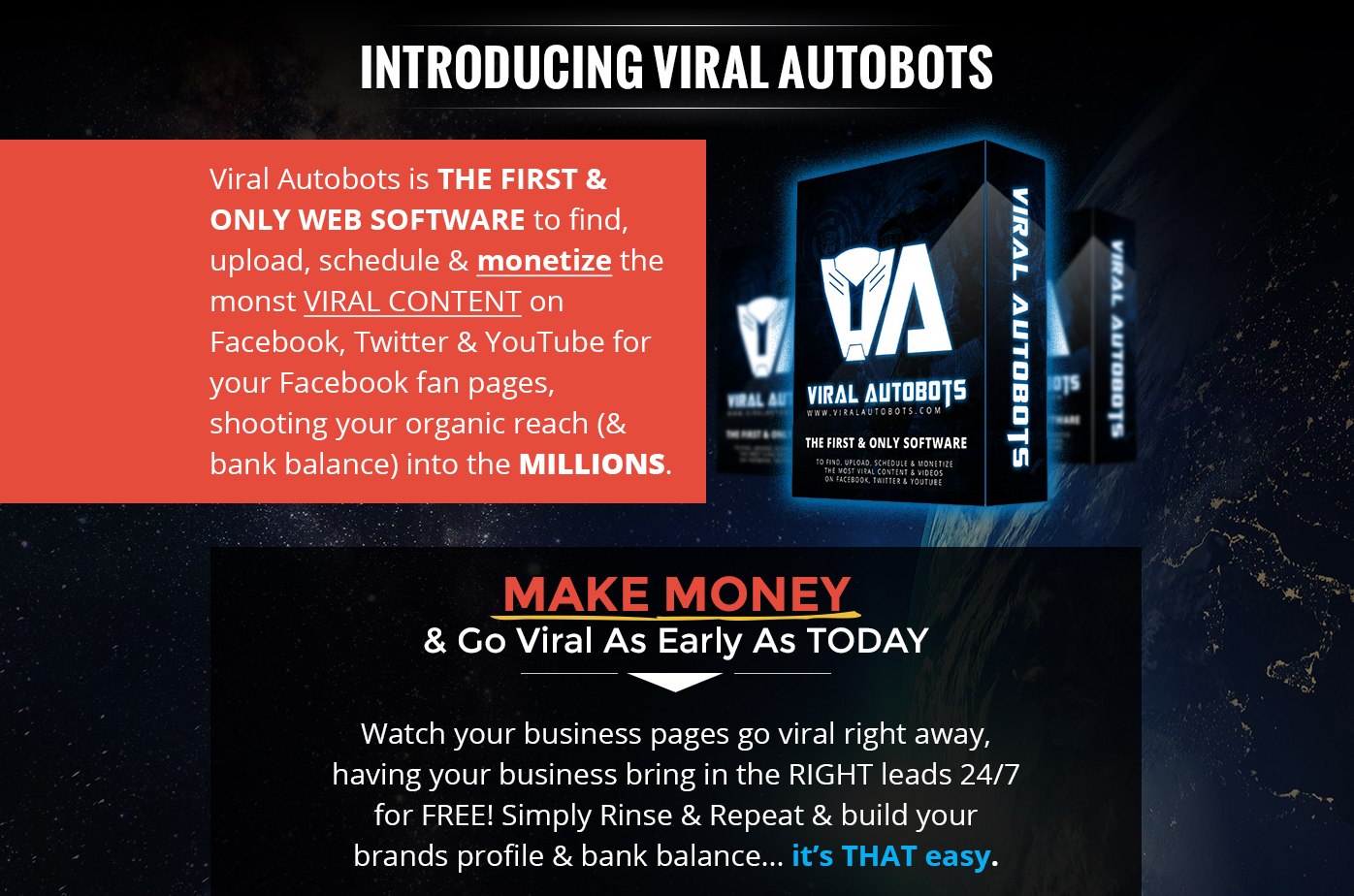 Viral Autobots banner