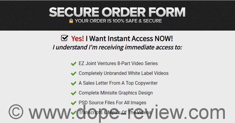 EZ Joint Ventures Review