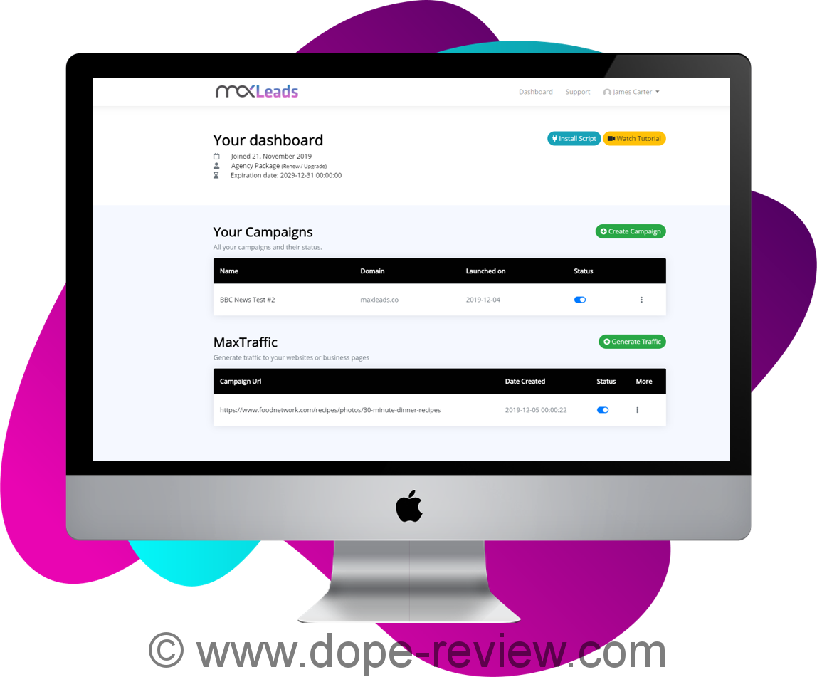 MaxLeads Review