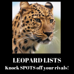 LEOPARD LISTS