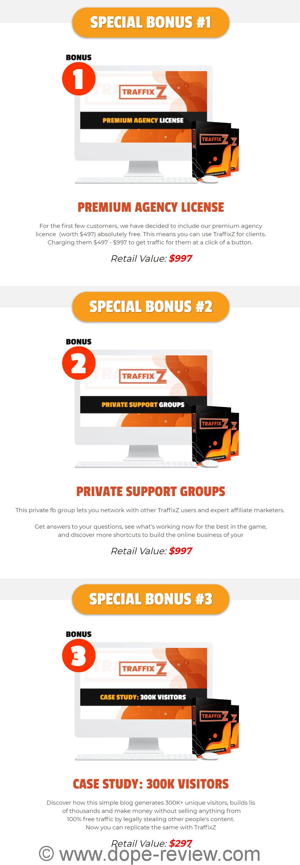 TraffixZ Bonus