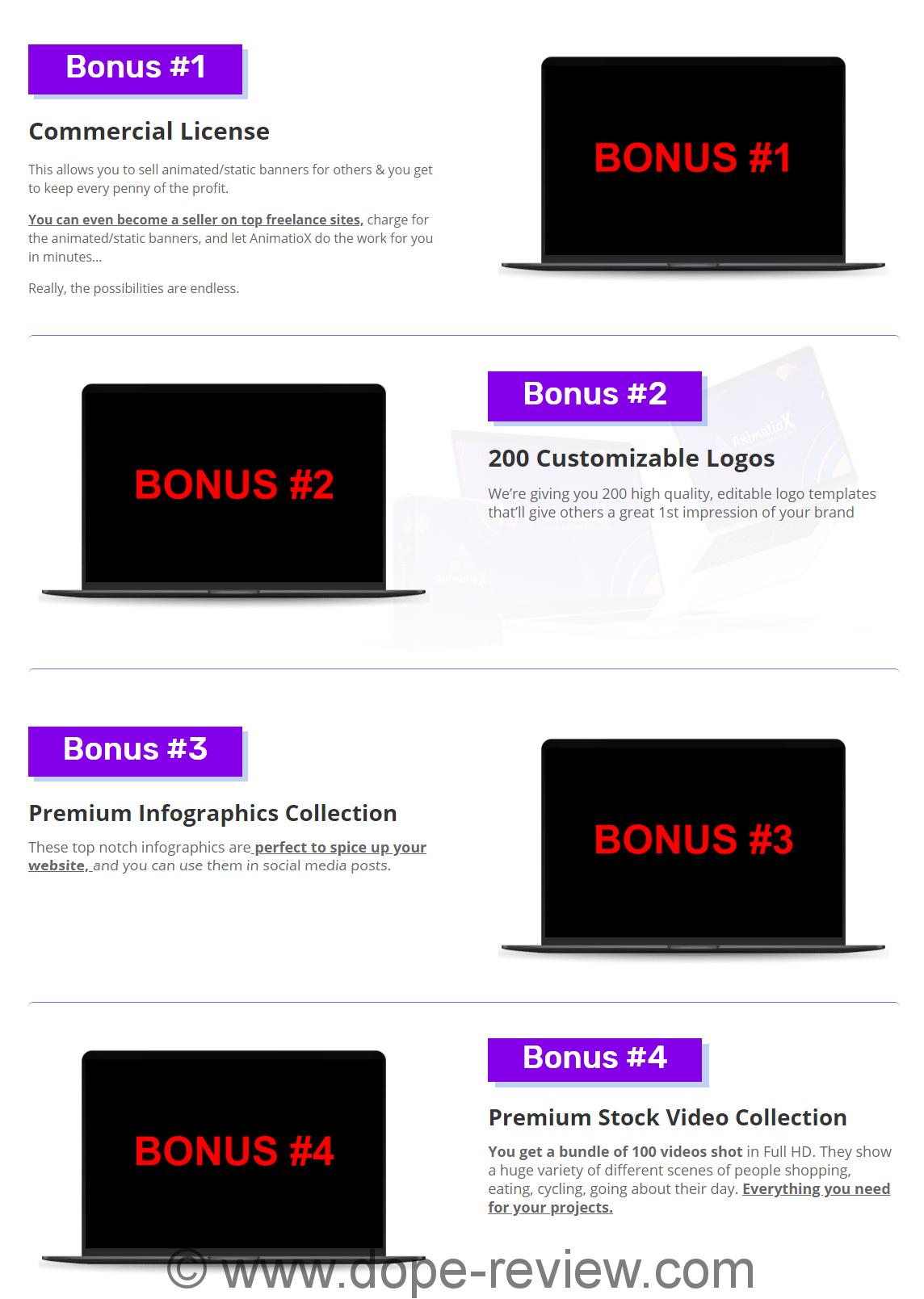 AnimatioX Bonus