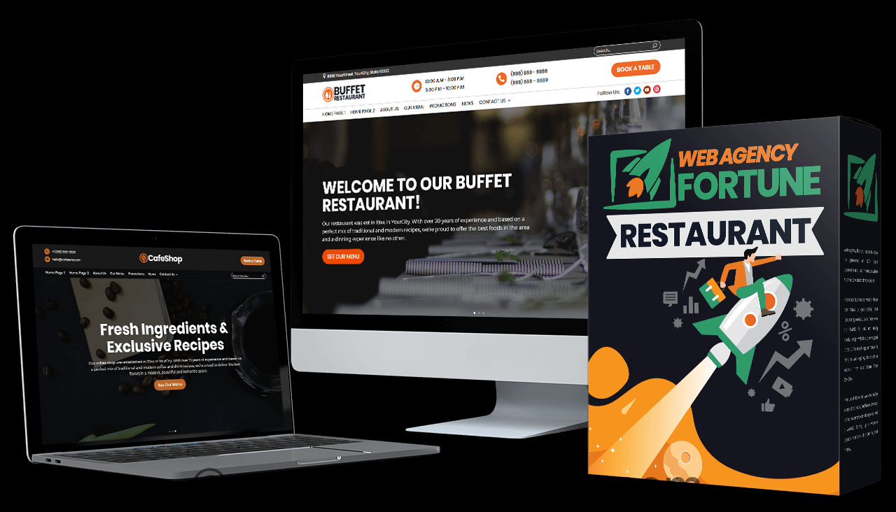 Web Agency Fortune Restaurant