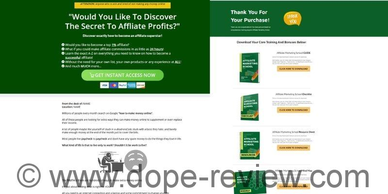 Affiliate Marketing School Review