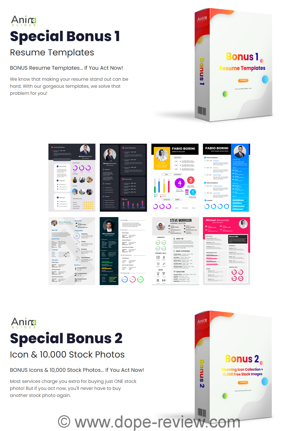 AnimaSlides Bonus
