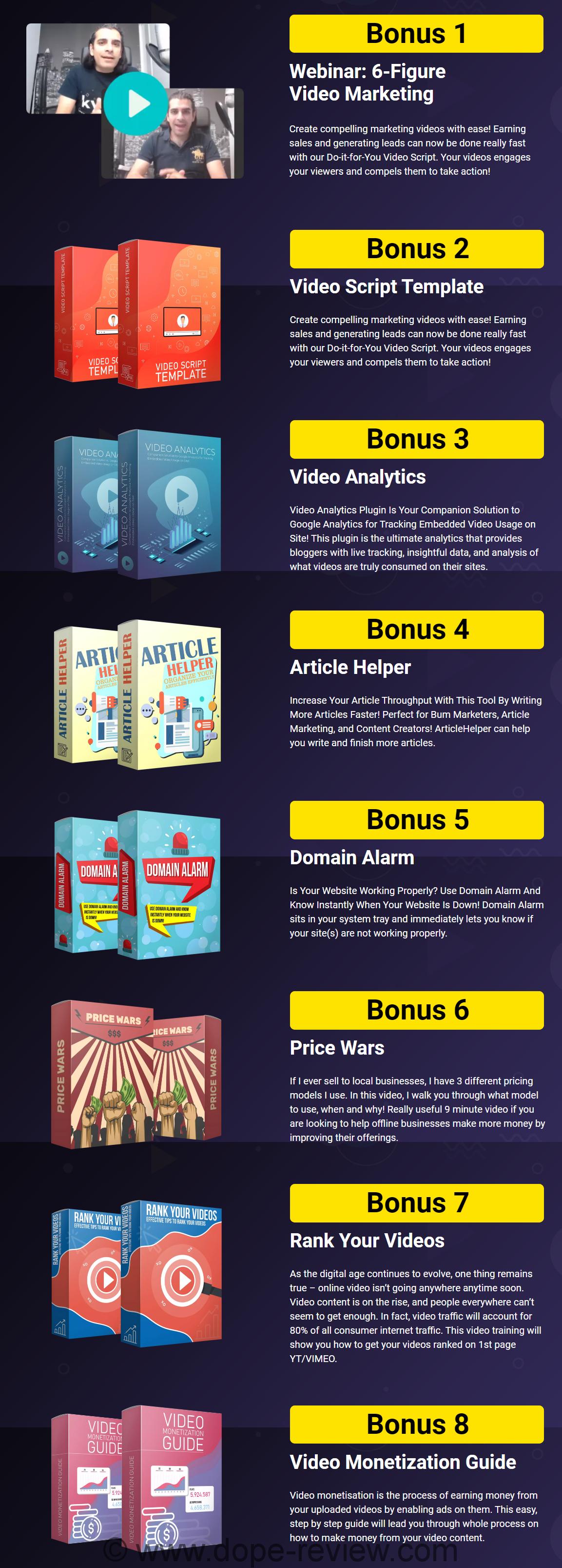 GrabVid Bonus