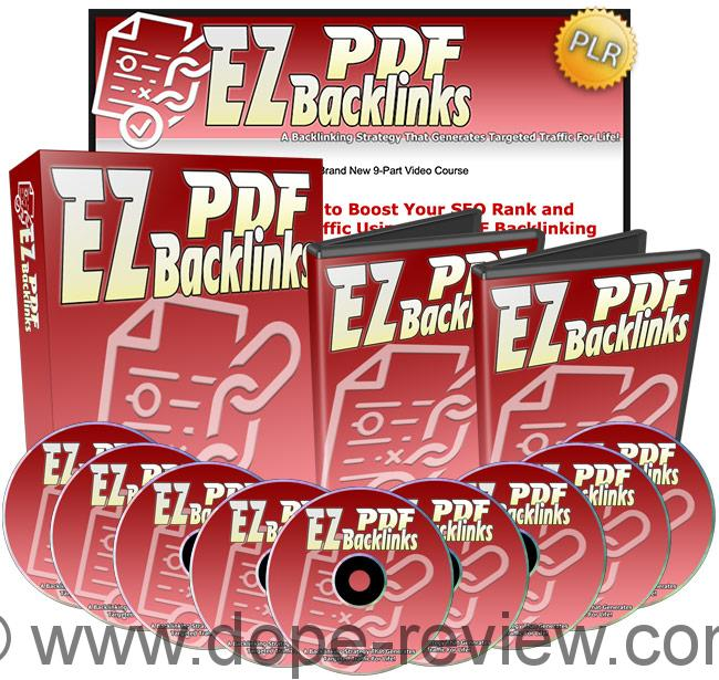 EZ PDF Backlinks Review