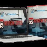 IM Checklist V35 Review Sites