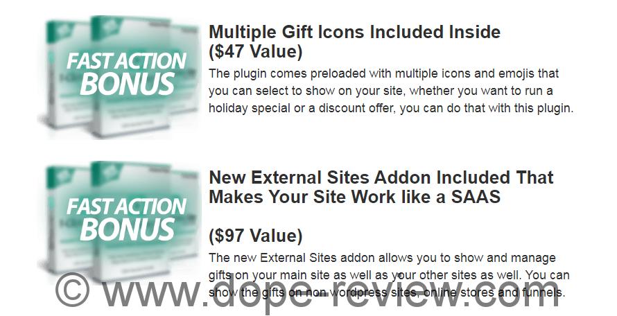 WP Gift Machine Bonus