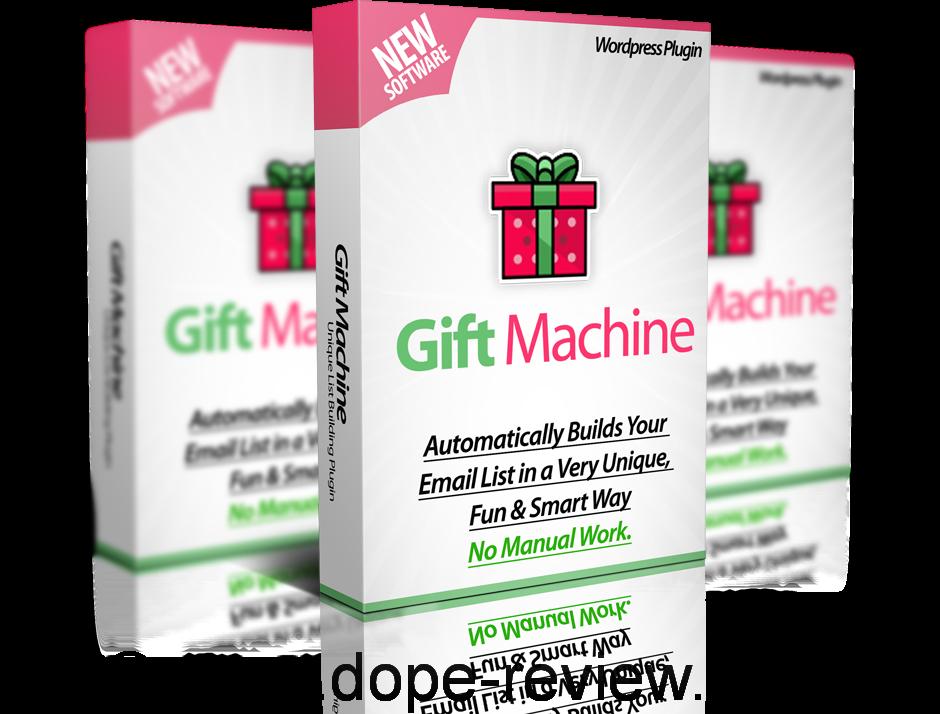 WP Gift Machine Review