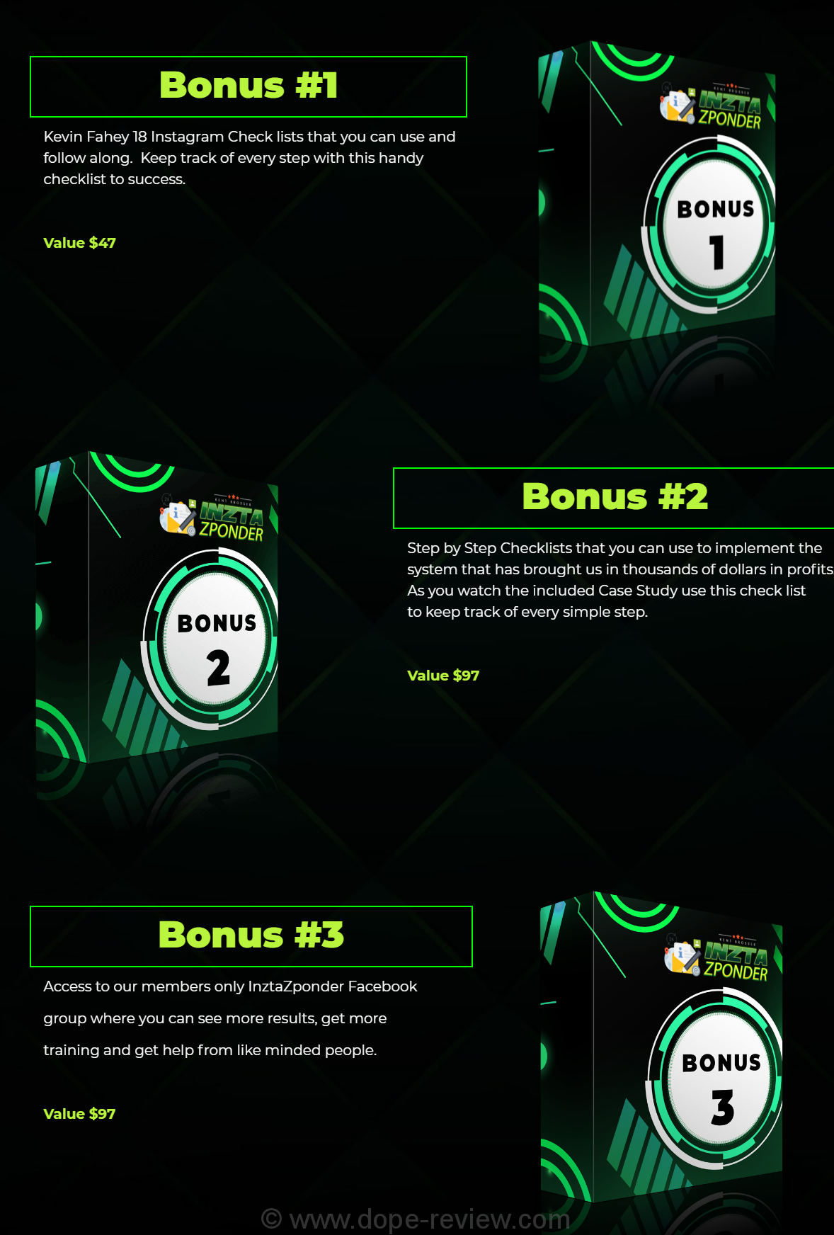 InztaZponder Bonus