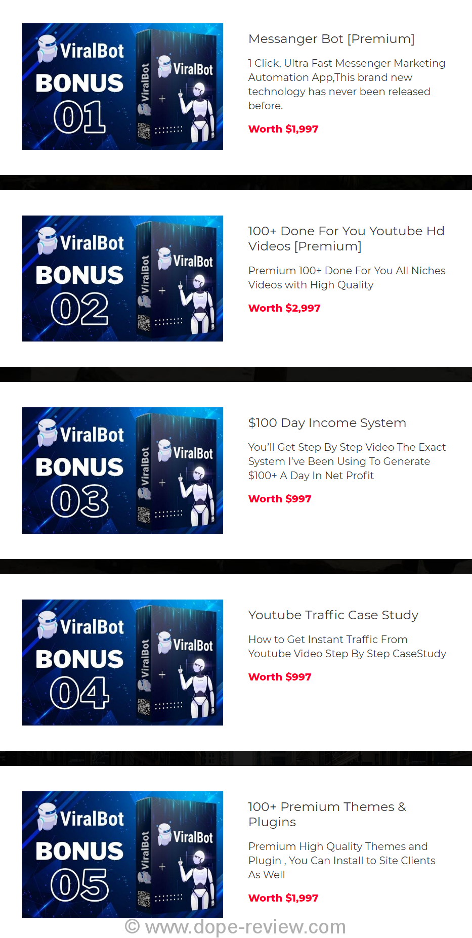 ViralBot Bonus